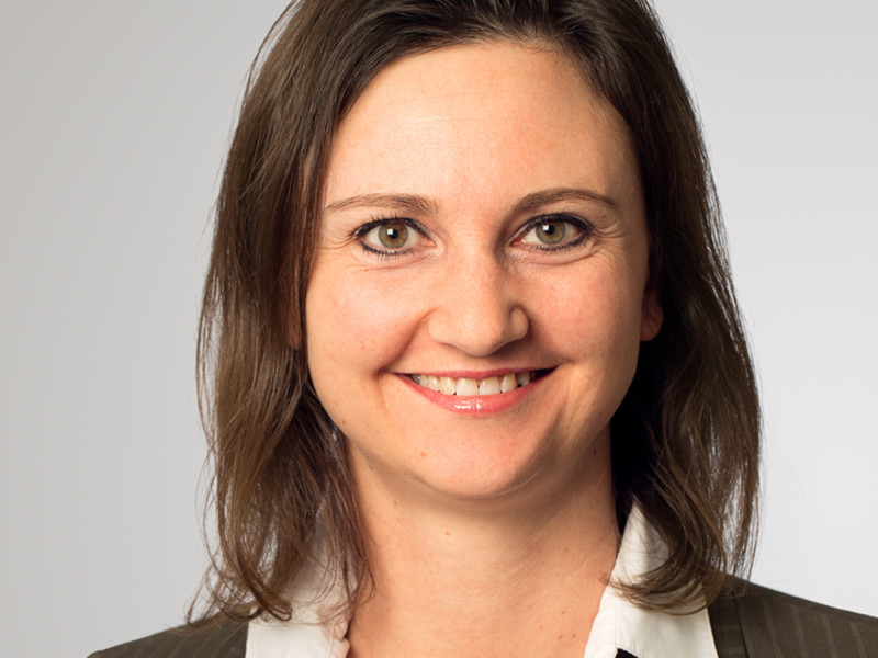 Sara Weltsch ist Buchhalterin bei der Eberli Bau AG.