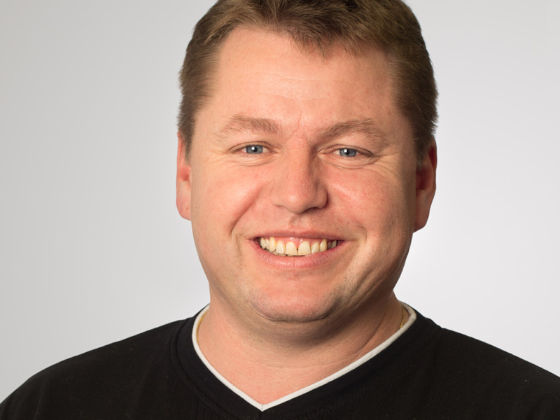 Niklaus Britschgi ist Leiter Logistik bei der Eberli Bau AG.