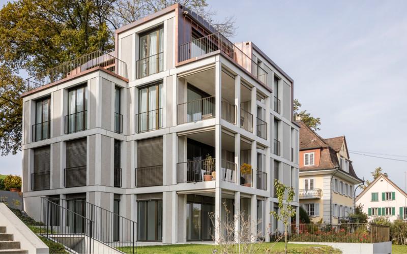 Neubau in der Obere Bergstrasse 7 in 6004 Luzern.