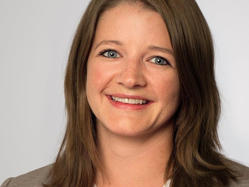 Chantal Rohrer ist Sachbearbeiterin Vermarktung bei der Eberli AG.