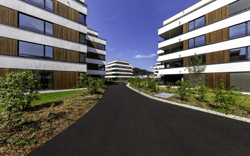 Wohnüberbauung Lindengarten in Dagmersellen.
