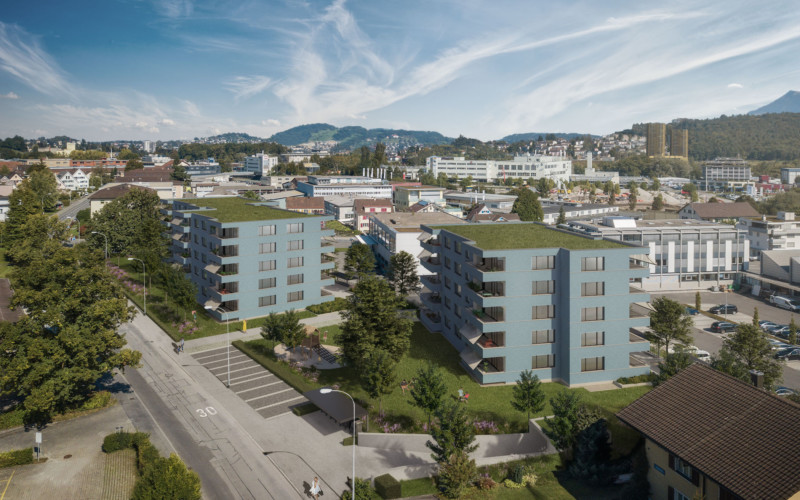 Überbauung Tilia in Kriens.