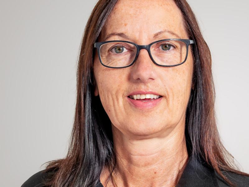 Monika Peter ist Hauswartin bei der Eberli Hauswartungen GmbH.