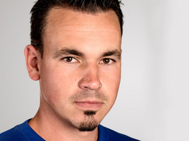 Dominic von Rotz ist Polier der Eberli Bau AG.