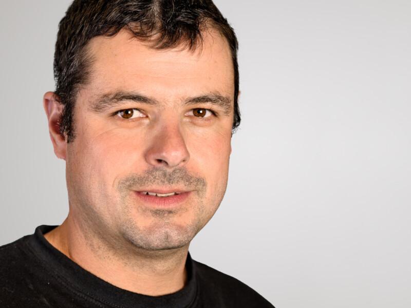 Lukas Berlinger ist Polier der Eberli Bau AG.