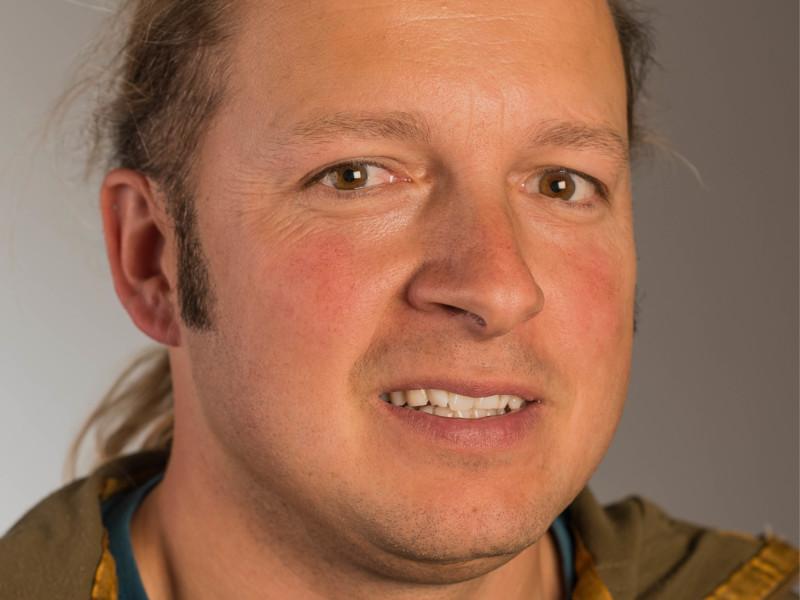 Martin Röthlin ist Polier der Eberli Bau AG.