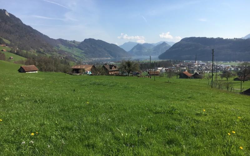 Aussicht des Projekts Grueben Schoried.