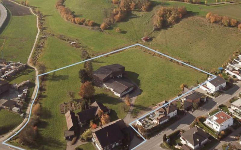 Foto des Grundstücks Äbnet in Adligenswil.