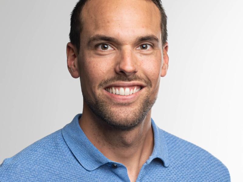Matthias Berger ist Polier bei der Eberli Bau AG.