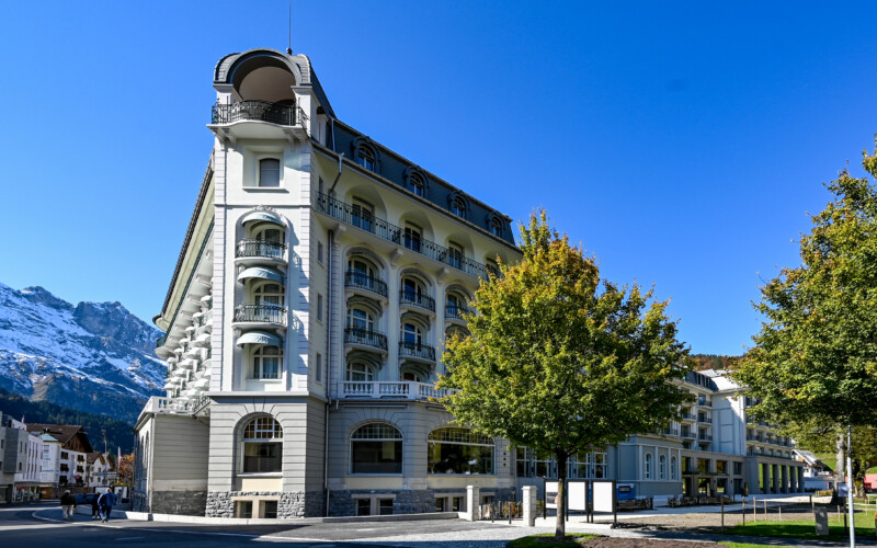 Hotels Kempinski Palace Engelberg Titlis in Engelberg.