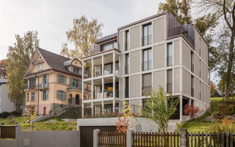 Villa und Haus Obere Bergstrasse